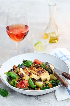 Halloumi, Nicoise, Monkey Business, Food For Thought, Food Inspiration, Alcoholic Drinks, Food Photography, Grilling, Healthy Recipes
