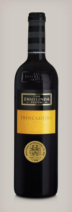Casa Ermelinda Freitas Trincadeira 2010. Challenge Internatinal Du Vin Gold Medal Winner.