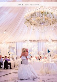 20 Pretty Perfect All White Reception Decor