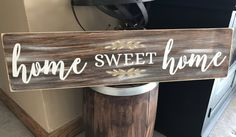 Home Sweet Home Rustic Country Fixer Upper Style Farmhouse