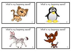 What Am I - Beginning Sounds
