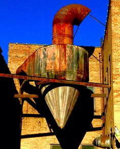 Aging industrial building