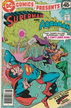 DC Comics Presents Vol. 2 No. 5  1979  Superman and Aquaman by TheSamAntics