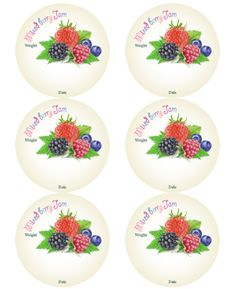 These are reallycute canning jar labels designed by Ira Pavlovich. Use on your cans, jars and other containers you are using for your homemade jams (fruit preservatives): Cherry, Blueberry, Strawberry, Mix-berries, Apricot, Raspberry, Grape, Peach and Marmalade. Ira also draw the different fruits for the labels.. great work -:) For ...