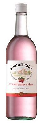 Boone's Farm Strawberry Hill...how under age drinking got it's start! Yeah my mom use to let me drink this when I was 13 !