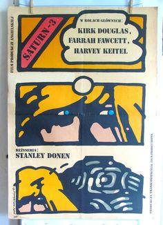 Saturn 3  United Kingdom 1980s film by Stanley by artwardrobe, $49.99