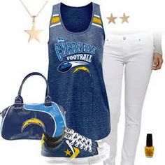 Chargers Cute Nails - Bing Images