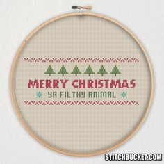 And a happy New Year!  This cross stitch pattern uses 7 colors, has a stitch count of 915, and dimensions of 100 x 50 stitches. It measures approximately: 5.6 x 2.8 on 18-ct. 6.3 x 3.2 on 16-ct. 7.2 x 3.6 on 14-ct.  You get a PDF document of the cross stitch pattern above. Youll need a PDF viewer to view it. If you dont have one installed, you can get Adobe Reader for FREE at http://www.adobe.com/products/reader.html