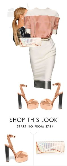 """1st Sunday"" by cogic-fashion ❤ liked on Polyvore featuring Giuseppe Zanotti and Christian Louboutin"