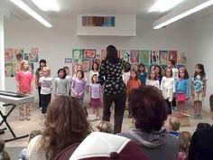 SFFS Children's Chorus - Warm up - YouTube