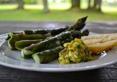Ofenspargel mit Salsa Verde