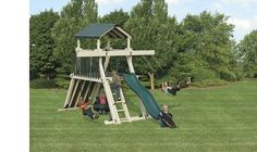 Adventure World Giggle Junction Swing Set Package, Price: $3,899.00  (Current Special Price of $3,230.23!)