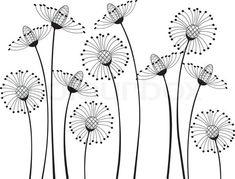 Meadow flowers stock vector