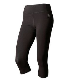 Take a look at this Black Lillehammer Cropped Leggings - Women by tasc Performance on #zulily today!