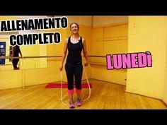 Allenamento Quotidiano per dimagrire velocemente la pancia e le gambe e tonificare - Lunedì - YouTube