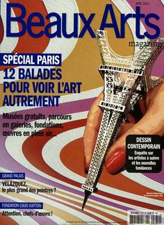 Special Paris - 12 Balades pour voir L'art autrement. Gefunden in: BEAUX ARTS MAGAZINE/F, Nr. 370/2015