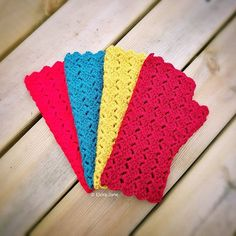 """Crochet Fingerless Gloves designed and handmade by © Elvira Jane. Pattern available to purchase from my Etsy shop """"ElviraJaneQ"""" UK or US crochet terms, dk (shown), or 4ply versions.  #crochet #crochetfingerlessgloves #crochetfingerlessmitts #fingerlessgloves #UKcrochetpattern #UScrochetpattern #acrylicyarn #crochetpattern #diycrochet #handmade #handcrafted #madewithlove #etsyshop #etsyseller #etsy #ukdesigner #independentdesigner #crochetdesigner #elvirajaneq #elvirajanecrochetdesigner"""