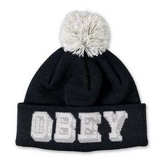 0d5b0571365 Obey University Pom Beanie