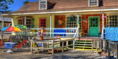 The Art Village in OBX is a great place for finding unique Outer Banks souvenir!