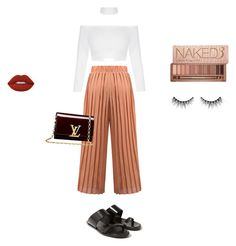 """Little Liar"" by aayeshaofficial on Polyvore featuring Rick Owens, Louis Vuitton, Lime Crime, Urban Decay and Huda Beauty"