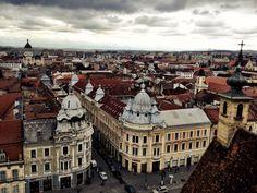 Cluj-Napoca Paris Skyline, Illustration, Travel, Viajes, Destinations, Illustrations, Traveling, Trips