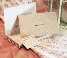elegant Unique Wedding Invitations, Unique Weddings, Dream Wedding, Gift Wrapping, Elegant, Gifts, Gift Wrapping Paper, Classy, Presents