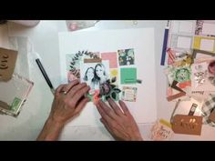 """This video is about Scrapbooking Process #41- """"Wild About You"""" for Clique Kits"""