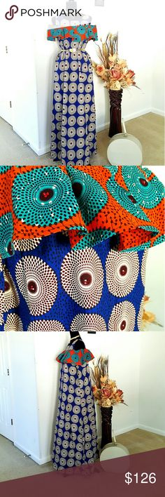 Gorgeous African print dress Very classy Dresses Maxi