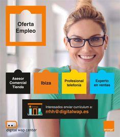 móvil para #Ibiza #Jobs #JobSearch #Trabajo #Work #TelefoniaMovil  ¡Únete a nuestro GRAN equipo! #FelizMiercoles Menorca, Job Search, Digital, Ibiza, Teamwork, Fotografia, Ibiza Town
