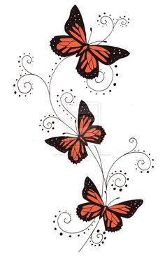 butterfly tattoos | Butterfly Tattoo Designs - Free Download Tattoo #1912 Tribal Butterfly ...