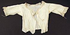 Shirt Date: 1800–1825 Culture: French Medium: [no medium available] Dimensions: Length: 18 x 8 1/2 in. (45.7 x 21.6 cm)