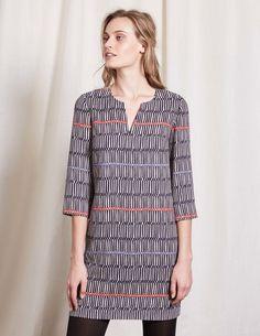 Easy Notch Tunic Dress
