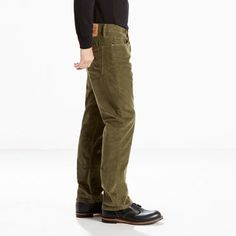 Levi's 514 Straight Fit Corduroy Pants - Men's 32x30