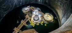 Spektakulärer unterirdischer Themenpark in Rumänien/ Salzbergwerk Turda