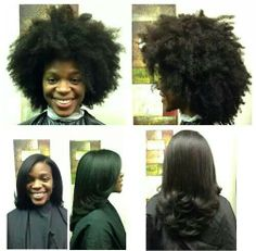 The versatility of natural hair.