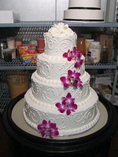Wedding Cake Design by Adam Leffel Productions