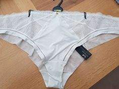 Panties Nwt Women's 2 Vanity Fair Nylon Briefs Size 7 Ivory #971l For Fast Shipping