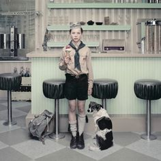 Erwin Olaf picture: The Ice Cream Parlour