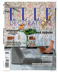 Elle Decoration South Africa | Editor Bielle Bellingham Take A Seat, Elle Decor, Book 1, Chair Design, South Africa, Editor, Decoration, Decor, Decorations