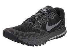 Nike Men's Air Zoom Wildhorse 3 Black/Dark Grey Wolf Grey Running Shoe 9 Men Us