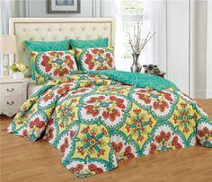 6 Piece Soft Touch Microfiber Gardenia Comforters