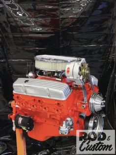 GM Performance Goodwrench 350 Small Block Chevy Crate Motor - Rod