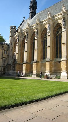 Exeter College Oxford England