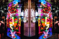 PAINTING WINDOW REFLECTIONS.  To purchase prints-PatrickBear@me.com http://ift.tt/1YDUUq1 #iphoneonl#iphoneograph #streetphotography #streetstyle #fineartphotography by patrickbear