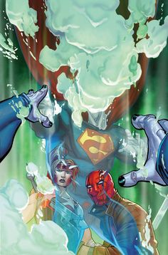 Jason Todd and Artemis discover Black Mask's secret weapon: a clone of Superman...and he might be a little bizzare... Get RED HOOD AND THE OUTLAWS #3, available 10/12!