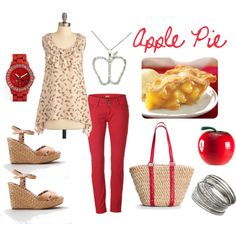 Apple Pie, created by #shellydiaz on #polyvore