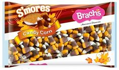 Brach's S'mores Candy Corn 9oz. Best candy corn ever! (But I love s'mores.)