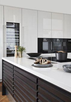 kitchen decor inspo home style art Apartment Kitchen, Home Decor Kitchen, Kitchen Interior, New Kitchen, Interior Design Living Room, Home Kitchens, Kitchen Dining, Scandinavian Kitchen, Scandinavian Style