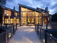 Contemporary Ski Lodge in Telluride Colorado