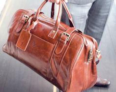 Hombres Weekender Bag bolsa de viaje para los hombres por Tram21